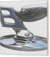 Bentley Logo Wood Print