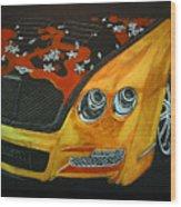 Bentley W66gts Wood Print