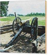 Bentonville Nc Confederate Artillery Wood Print