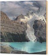 Berg Lake, Mount Robson Provincial Park Wood Print