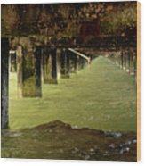 Berkley Pier California Wood Print