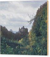 Berlepsch Castle Wood Print