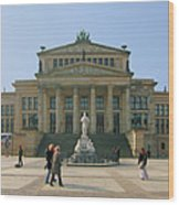 Berlin - Gendarmenmarkt Wood Print by Marc Huebner