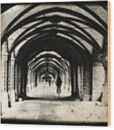 Berlin Arches Wood Print