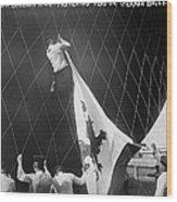 Berlin: Balloon Race, 1908 Wood Print