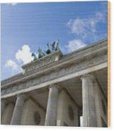 Berlin Brandenburger Tor Wood Print