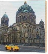 Berlin Dome Wood Print