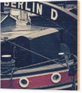 Berlin - Historischer Hafen Wood Print