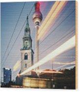 Berlin - Karl-liebknecht-strasse Wood Print