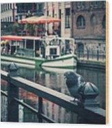 Berlin - Maerkisches Ufer Wood Print