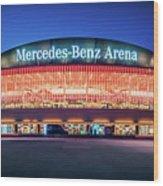 Berlin - Mercedes-benz Arena Wood Print