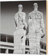 Berlin Olympiastadion - Berlin Olympic Stadium Wood Print