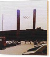 Berlin Olympic Stadium  Wood Print