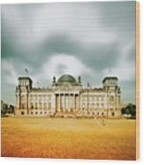 Berlin Reichstag Building Wood Print