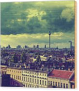 Berlin Skyline And Roofscape Wood Print