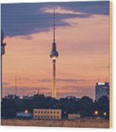 Berlin - Tempelhofer Feld Wood Print