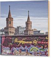 Berlin Wall Wood Print