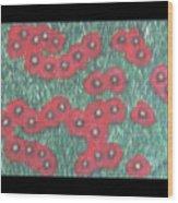 Berliner Poppies Wood Print
