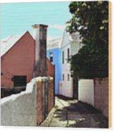 Bermuda Backstreet Wood Print