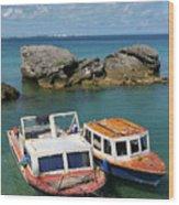 Bermuda Boats Wood Print