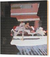 Bermuda Carriage Impressions Wood Print