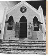 Bermuda Church Wood Print