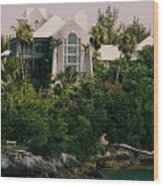 Bermuda Mansion Vision # 4 Wood Print