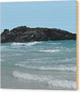 Bermuda South Shore Beach Wood Print