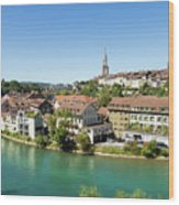 Bern, Switzerland Capital City Wood Print
