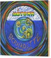 Bernadette By Four Tops Wood Print