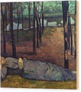 Bernard: Madeleine, 1888 Wood Print
