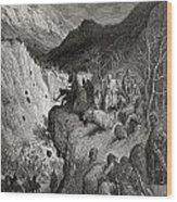 Bernard Of Carinthia Surprised By Wood Print