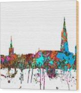 Berne Switzerland Skyline Wood Print