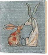 Bernice And Elliot Wood Print