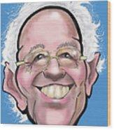 Bernie Sanders Wood Print