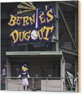 Bernies Dugout Wood Print