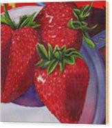 Berry Berry Berry Good Wood Print