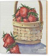 Berry Nice Wood Print