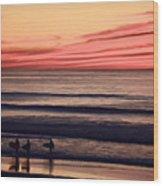 Beside Still Waters - Digital Paint Effect Wood Print