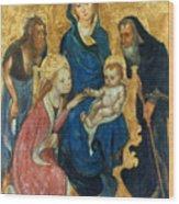 Besozzo: St. Catherine Wood Print