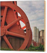 Bessemer Converter - Steel City - Pittsburgh Wood Print