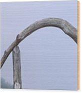 Best Bridge In Maine Wood Print