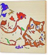 Best Buddies. Pet Series Wood Print