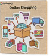 Best Online Shopping Site In Delhi Ncr Wood Print