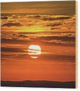 Best Sunset Ever Wood Print