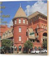 Best Western Plus Windsor Hotel Wood Print