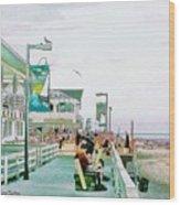 Bethany Beach Circa 2004 Wood Print