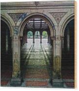 Bethesda Terrace Arcade 1 Wood Print