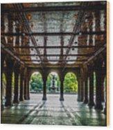 Bethesda Terrace Arcade 2 Wood Print
