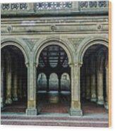 Bethesda Terrace Arcade 4 Wood Print